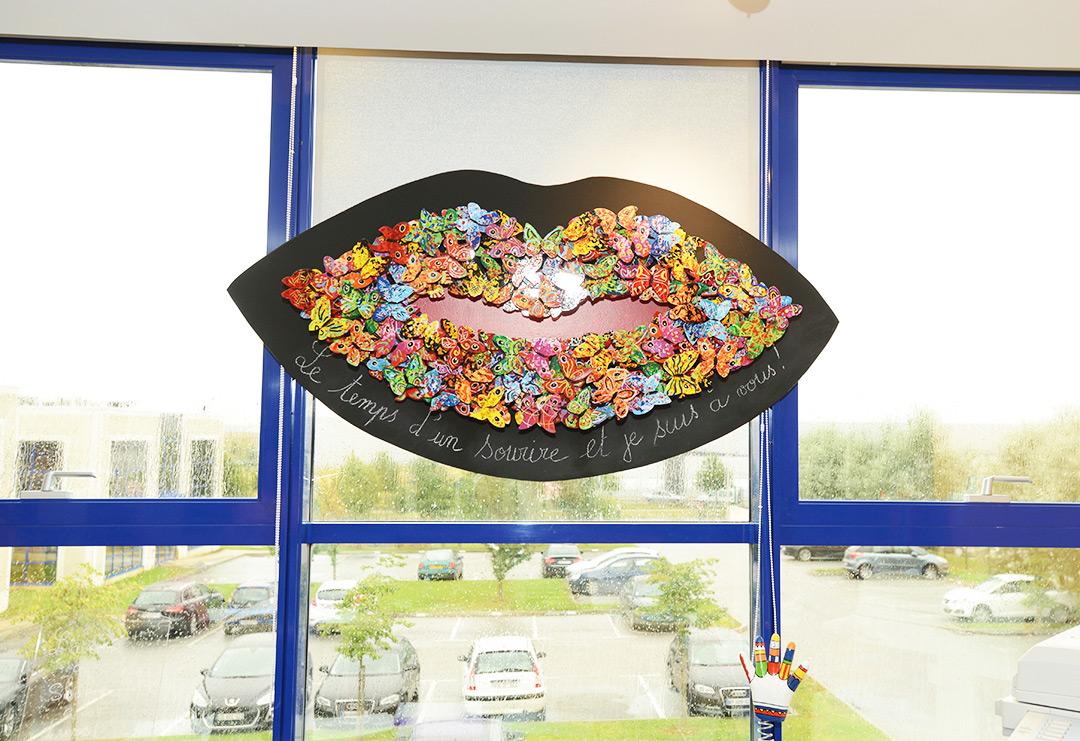 Photo de décoration du cabinet d'orthodontie du Docteur MOTTO